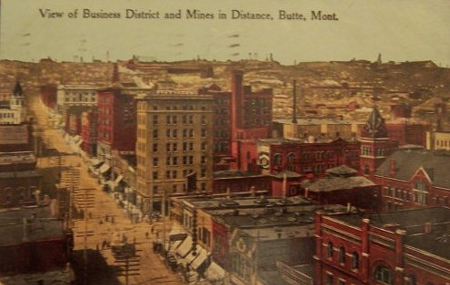 Butte Montana Mining History